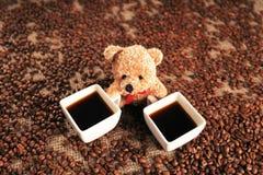 сделанная влюбленность иллюстратора иллюстрации кофейной чашки самана Стоковые Фотографии RF