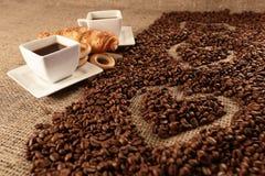 сделанная влюбленность иллюстратора иллюстрации кофейной чашки самана Стоковые Изображения RF
