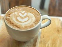 сделанная влюбленность иллюстратора иллюстрации кофейной чашки самана Стоковое Изображение