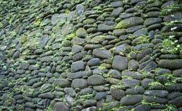 сделанная каменная стена Стоковые Изображения