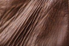Сделанная по образцу кожаная и старая кожаная текстура с предпосылкой царапин Стоковое фото RF