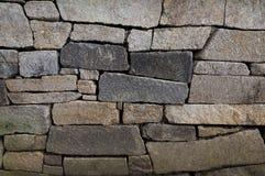 сделанная стена камней Стоковое Изображение