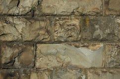 сделанная стена камней Стоковые Изображения RF