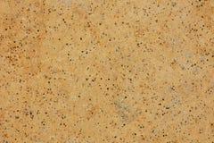 Сделанная ямки текстура предпосылки блока песчаника Стоковые Изображения RF