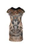 Сделанное по образцу silk платье Стоковое Изображение