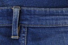 Сделанные по образцу голубые джинсы Стоковое фото RF