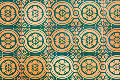Сделанные по образцу стены Стоковая Фотография