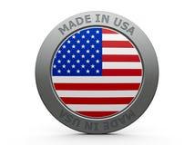 сделанные США Стоковое Изображение