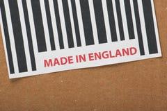 Сделанный в Англии стоковые фотографии rf