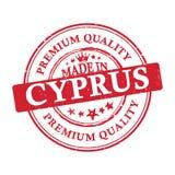 Сделанный в Кипре, стикер наградного качественного grunge printable Стоковые Фото