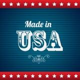 Сделанный в США Стоковая Фотография