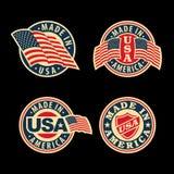Сделанный в США Стоковые Изображения RF