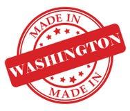 Сделанный в штемпеле Вашингтона Стоковая Фотография