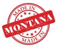 Сделанный в штемпеле Монтаны Стоковое Фото