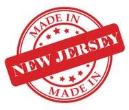 Сделанный в штемпеле Нью-Джерси Стоковые Изображения RF