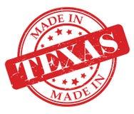 Сделанный в штемпеле Техаса Стоковое фото RF
