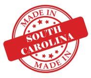 Сделанный в штемпеле Южной Каролины Стоковое Изображение RF