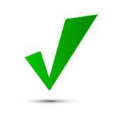 Сделанный зеленый цвет тикания Стоковые Фотографии RF