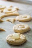 Сделанный из свежих ингридиентов традиционно и очень вкусных donuts Стоковое фото RF