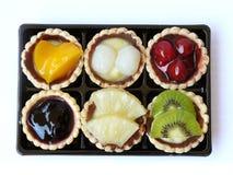 Сделанный домом комплект пирога плодоовощ Стоковое Изображение