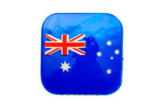 Сделанный домом торт дня Австралии Стоковое Изображение RF