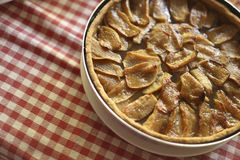 Сделанный дом яблочного пирога Стоковые Изображения RF