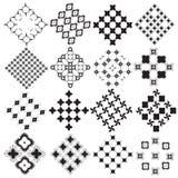 Сделанный по образцу monochrome Стоковое Изображение RF