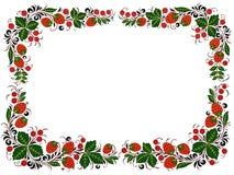 сделанный творением фольклорный тип рамки Стоковая Фотография RF