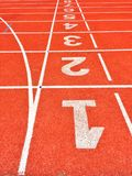 След атлетики Jogging Стоковое фото RF
