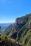 След в каньоне горы Стоковая Фотография
