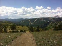 След в скалистых горах Стоковые Фотографии RF