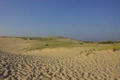 След в дюнах Стоковые Изображения RF