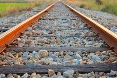 След железной дороги стоковое изображение rf