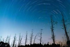 След звезды Стоковая Фотография