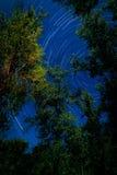 След звезды Стоковое фото RF