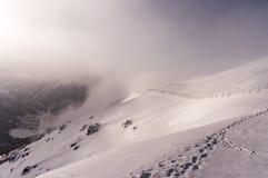 След зимы в горах Tatra Стоковое Фото