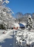 След зимы Snowy Стоковое Изображение RF