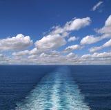 След корабля Стоковые Изображения