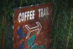 След кофе Стоковые Изображения RF