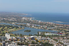 След Мельбурн Формула-1 Стоковое Изображение