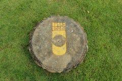 След ноги Будды s в Таиланде Стоковое Фото