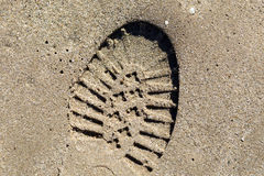 След ноги Стоковые Фото