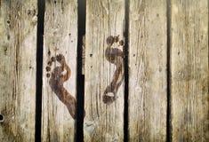 След ноги Стоковое фото RF