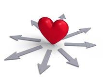 Следовать вашим сердцем? бесплатная иллюстрация
