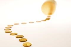 Следовать деньгами 1 Стоковые Фото