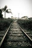 След поезда Стоковые Изображения RF
