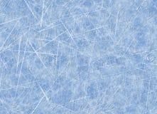 След предпосылок коньков. поверхность льда Стоковая Фотография RF