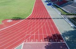 След спортсмена или идущий след с 6 до 8 Стоковая Фотография