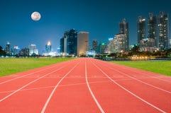 След спортсмена или идущий след Стоковые Фотографии RF