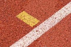 След спортсмена или идущий след Стоковые Фото